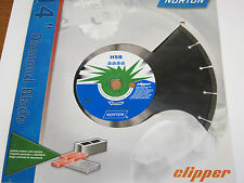 14' Diamond Blade General Purpose Norton Clipper High Speed Charger
