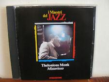 THELONIOUS MONK misteroso-CD-Maestri del Jazz-De Agostini- fuori commer