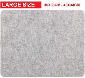 LARGE SIZE Wool Ironing Mat Pressing Pad High Temperature Ironing Board Felt Pad