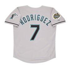 Ivan Rodriguez 2003 Florida Marlins World Series Men's Grey Road Jersey (M-2XL)