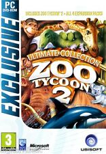Zoo Tycoon 2 Ultimate Collection PC Brand New Sealed with All 4 Expansion Packs