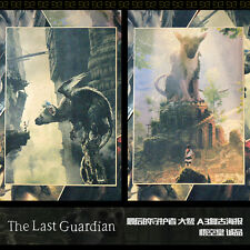 The Last Guardian Trico Poster Wall Painting Decorative Murals 2pcs