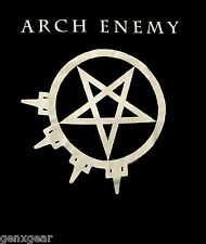 ARCH ENEMY cd lgo PURE F#CKING METAL Official SHIRT SMALL New oop
