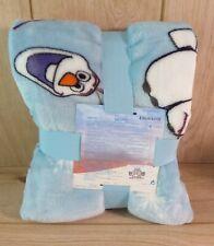 Primark Disney Frozen 2 Olaf Throw Soft Fleece Blanket - Brand New