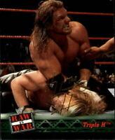 2001 Fleer WWF Raw Is War #2 Triple H - NM-MT
