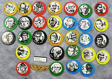 1978 Avalon Hill Frank Herbert's DUNE Original 5 Leader Discs REPLACE LOST ONES