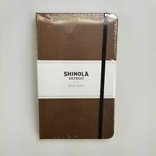 Shinola Detroit Medium Hickory Brown Notebook - Made in the USA (S0710010914)