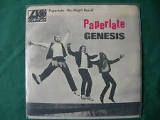 "GENESIS-""PAPERLATE"" RARE 7""  CANADA FIRST PRESSING 1982 CANADIAN"