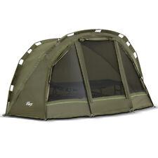 Lucx® Bivvy 1 Mann Angelzelt Karpfen Zelt 1 man Carp Fishing Dome Tent