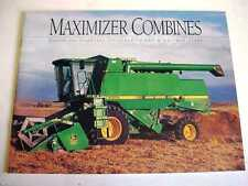 John Deere Maximizer Combines Brochure                                      b4