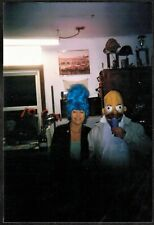 Vintage Photograph Homer & Marge Simpson Costumes - Halloween
