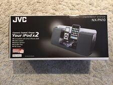 Rare Brand New JVC NX-PN10 Compact Component System iPod iPhone Dock BNIB