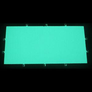 200 x 100mm EL Folie Leuchtfolie Plasmafolie für Tachoscheiben Farbe: *grün*