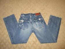 Prps Distressed Button Fly Jeans Made in Japan- size 24- EUC