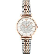 NEW GENUINE EMPORIO ARMANI AR1926 TWO TONE LADIES WATCH