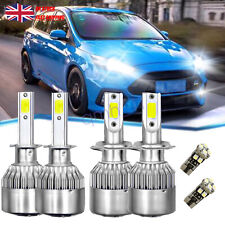 For Ford	Focus Turnier MK 3 Side/Low/High Beam 501 H7 H1 Xenon Headlight Bulbs