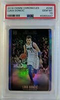 2018-19 Panini Chronicles Luka Doncic Rookie RC #296, Graded PSA 10, Pop 51 !