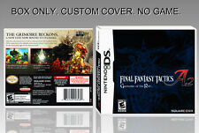 NINTENDO DS : FINAL FANTASY TACTICS A2. UNOFFICIAL COVER. ORIGINAL BOX. NO GAME.