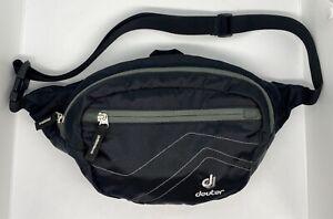 Deuter Belt Organizer Belt Belt Bag Waist Bag Belt Bag Hip Bag D-86368 Black