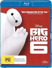Big Hero 6  - BLU-RAY - NEW Region B