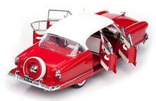 1952 Nash Ambassador Red Ivory 1:18 SunStar 5116