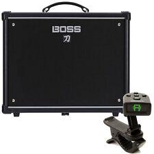 BOSS Katana 50 1x12 Guitar Combo Amplifier + FREE Planet Waves Headstock Tuner