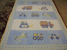 Cute Handmade Boy's Work & Play Toy's Quilt