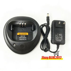 Desktop Charger For Motorola  PR400 CP200 CP200D CP200XLS EP450 DEP450 Radio