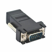 VGA DB15 Male To RS232 DB9 Pin Male Adapter//Video Graphic Extension Cable K9F8