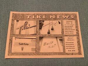 Tiki News issue #6 - 1995 - vintage exotica culture zine