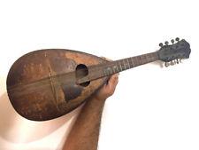 1930's Vintage Soviet Russian Armenian Stringed Musical Instrument Saz, Mandolin