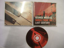 GEORGE MICHAEL Songs From The Last Century – 1999 AUSTRALASIAN CD  – Pop – RARE!