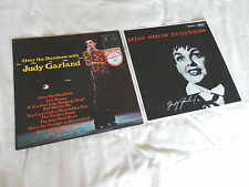 """Judy Garland - 2 LPs - """"Miss Show Business"""" LCT6103 & """"Over the Rainbow"""" MFP1237"""