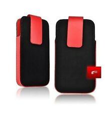 Housse Etui aspect CUIR FORCELL Fliper IPHONE 3G 3GS