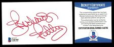 Richard Petty signed autograph auto 3x5 index card BAS Beckett Authenticated