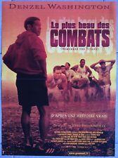 Affiche LE PLUS BEAU DES COMBATS Remember the Titans DENZEL WASHINGTON 40x60cm *