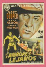 Spanish Pocket Calendar #234 Distant Drums Film Poster Gary Cooper Mari Aldon