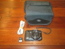 Canon PowerShot SX160 IS 16.0 MP Digital Camera W/ Case EXCELLENT COND. WORKS
