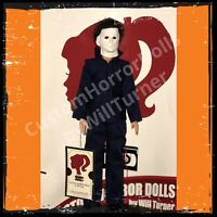 Sale Michael Myers CUSTOM HORROR DOLL Halloween 1978 Version OOAK Figure
