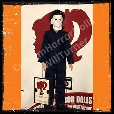 "Michael Myers CUSTOM HORROR DOLL Halloween 1978 Version OOAK 12"" Figure"