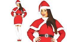 Costume Babbo Natale Completo Donna Travestimento Mamma Natale