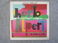 HERB ALPERT & THE T.J.B. ~ CONEY ISLAND  VINYL RECORD LP / 1975 Trumpet