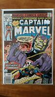 New Captain Marvel 56 Deathgrips command Marvel High Grade Comic Book RM12-92