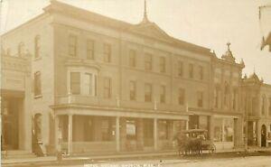 RPPC Postcard 6. Hotel Noonan, Madelia MN Watonwan County Posted 1911