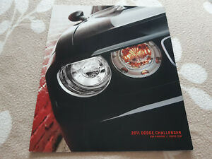 2011 Dodge CHALLENGER Brochure Prospekt ENGLISH USA SRT8 392 Rare 26 pages