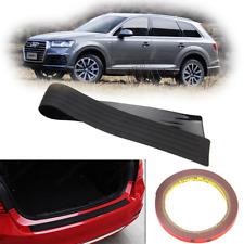 Car Rear Bumper Guard Rubber Protector Cover Sill Plate Trunk SUV Pad Trim Black