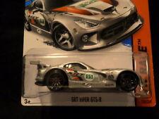 HOT WHEELS 2015 HW RACE #150/250 SRT DODGE VIPER GTS-R HOTWHEELS SLVR MOPAR VHTF