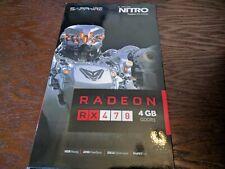 SAPPHIRE Nitro Radeon RX 470 4GB GDDR5 Graphics Card