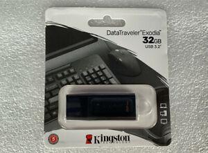 Kingston 32GB USB Flash Drives USB3.2 High Speed Storage Memory Stick U Disk