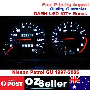For Nissan Patrol GU 1997-2005 series 1 2 3 Dash Dashboard LED Kit+Bonus Replace